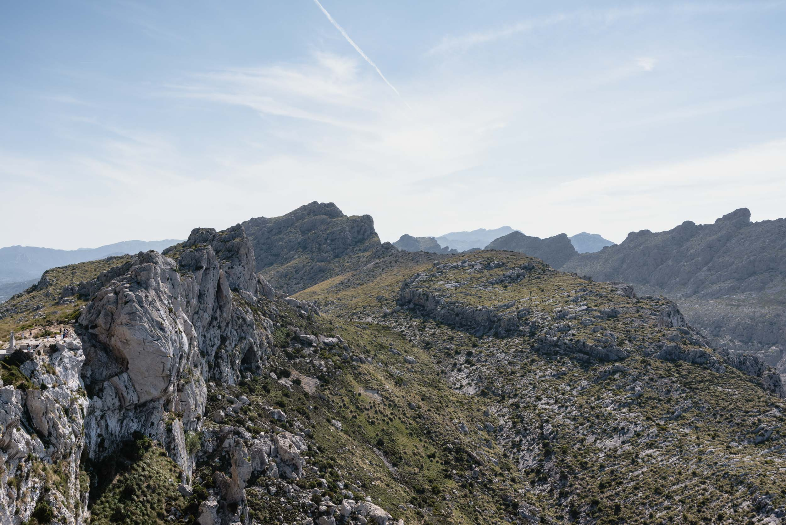 Mallorca rugged mountains Mirador Es Colomer