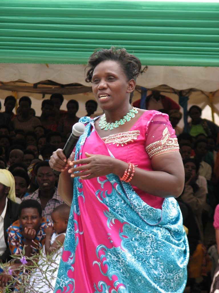 IRENE MUJAWAYEZU, ONE OF THE CO-OP LEADERS