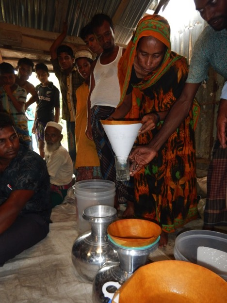Folio Water's paper water filters offer affordable clean drinking water in Bangladesh.