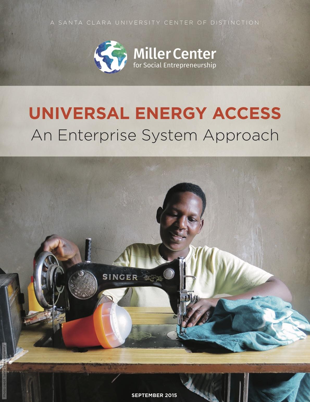 Universal Energy Access: An Enterprise System Approach