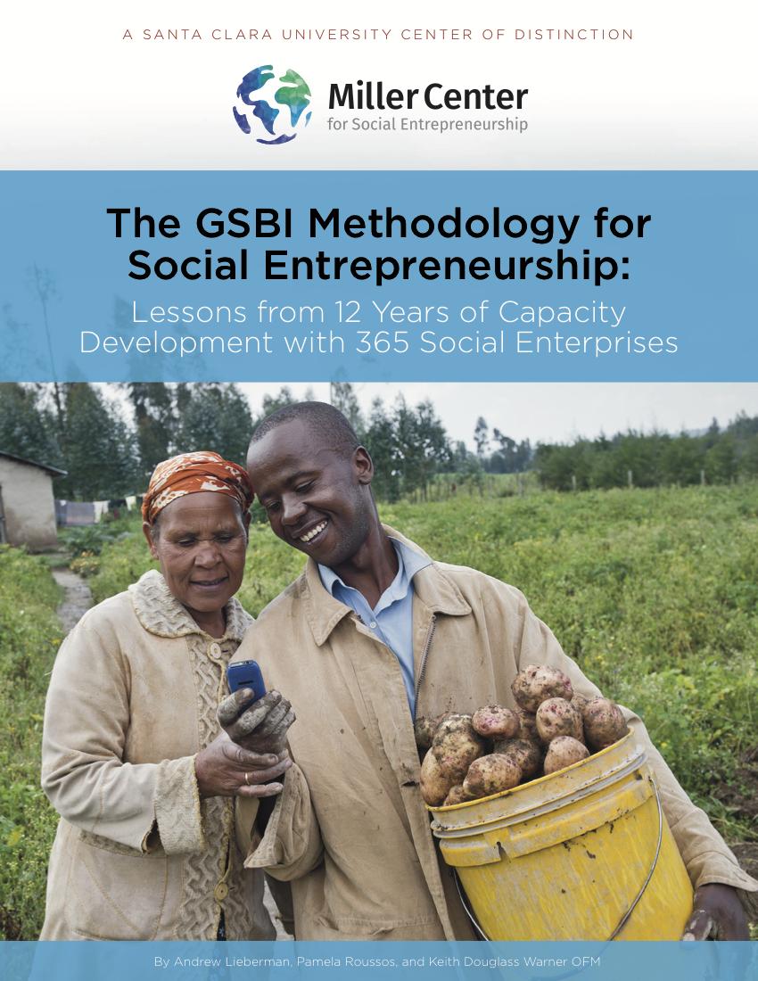 The GSBI Methodology for Social Entrepreneurship