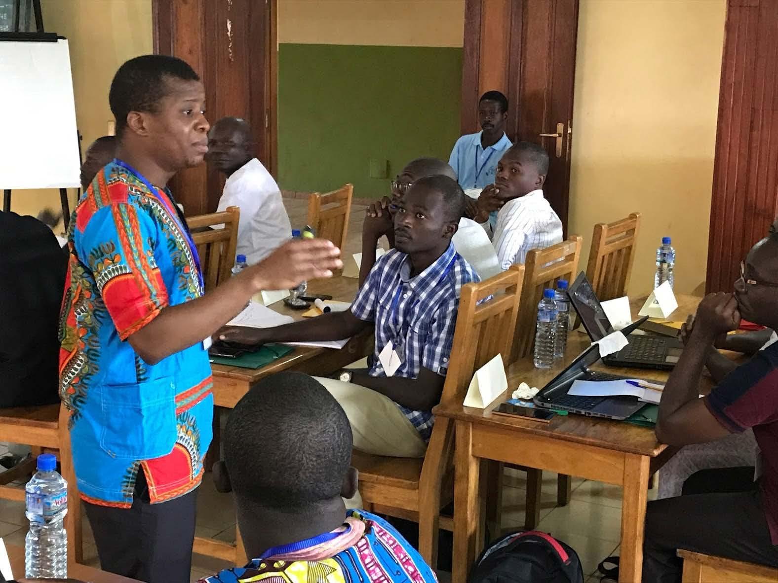 Joy in Togo: Miller Center and local Jesuit ministry hold largest ever GSBI Boost workshop