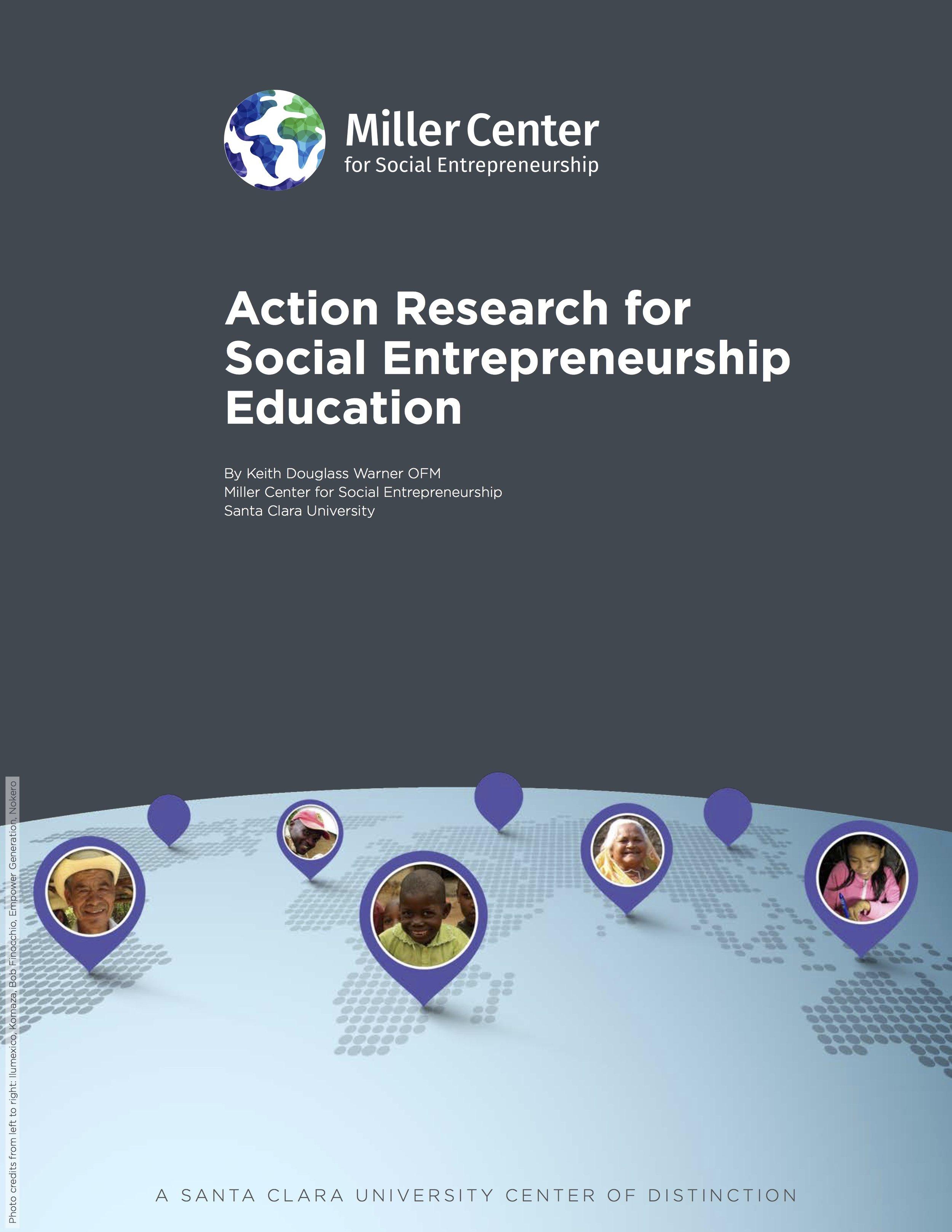 Action Research for Social Entrepreneurship Education White Paper