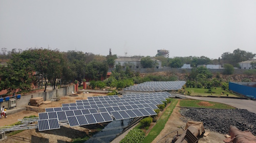 A Freyr Energy solar plant in India, one of the companies included in the research. (Image courtesy of Freyr.)