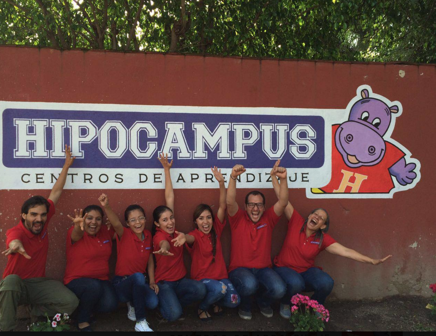 Team members at Hipocampus Centros de Aprendizaje (Mexico).