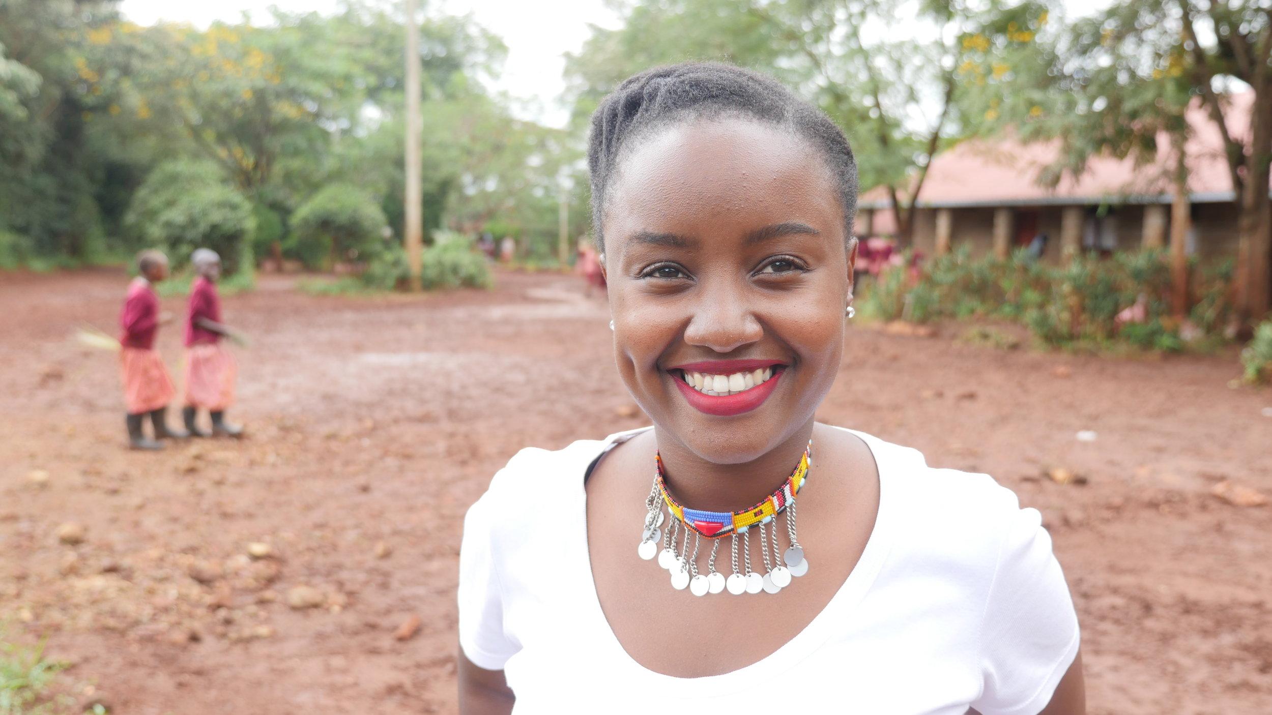 Founder, Food 4 Education, Wawira Njiru   Photo credit: Food 4 Education