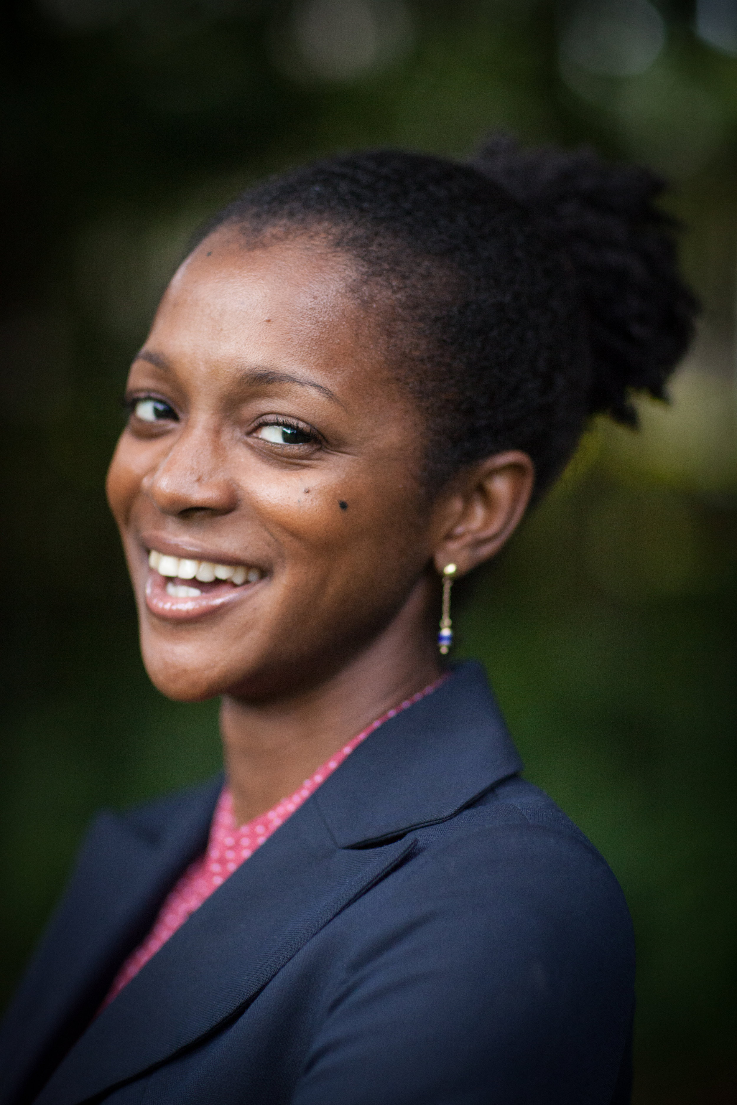 Manka Angwafo, founder of Grassland Cameroon and Miller Center GSBI alumna ('18)