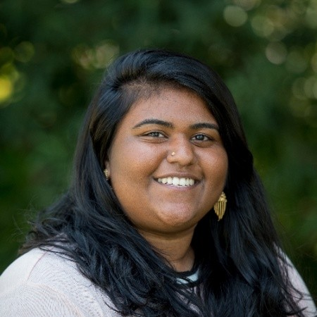 Nithya Vemireddy (GSBF 2017 Awaaz.De/Psychology) received a William J. Clinton Fellowship for Service in India from the American Indian Foundation, and has begun working at Chindu, a nonprofit focused on promoting capacity building. -
