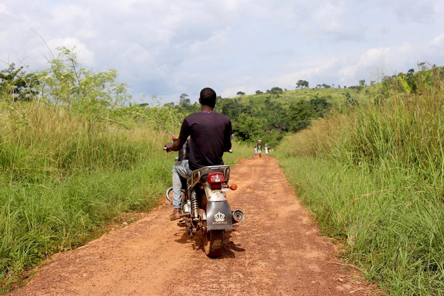 Earnest is a young field agent based in Upper Manya Krobo District. He explained that he wants to be someone in the moringa field, and feels as though working with MoringaConnect will provide him opportunities for growth.