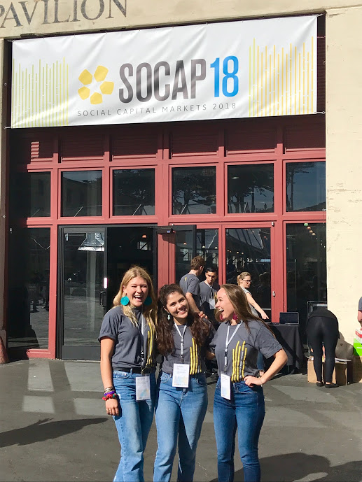 Volunteered at SOCAP and met some inspirational people