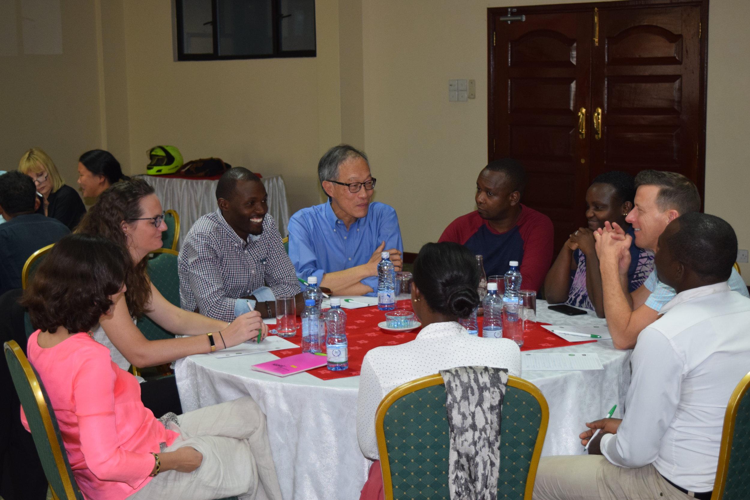 Miller Center's first ever in-country GSBI® alumni workshop in Nairobi.