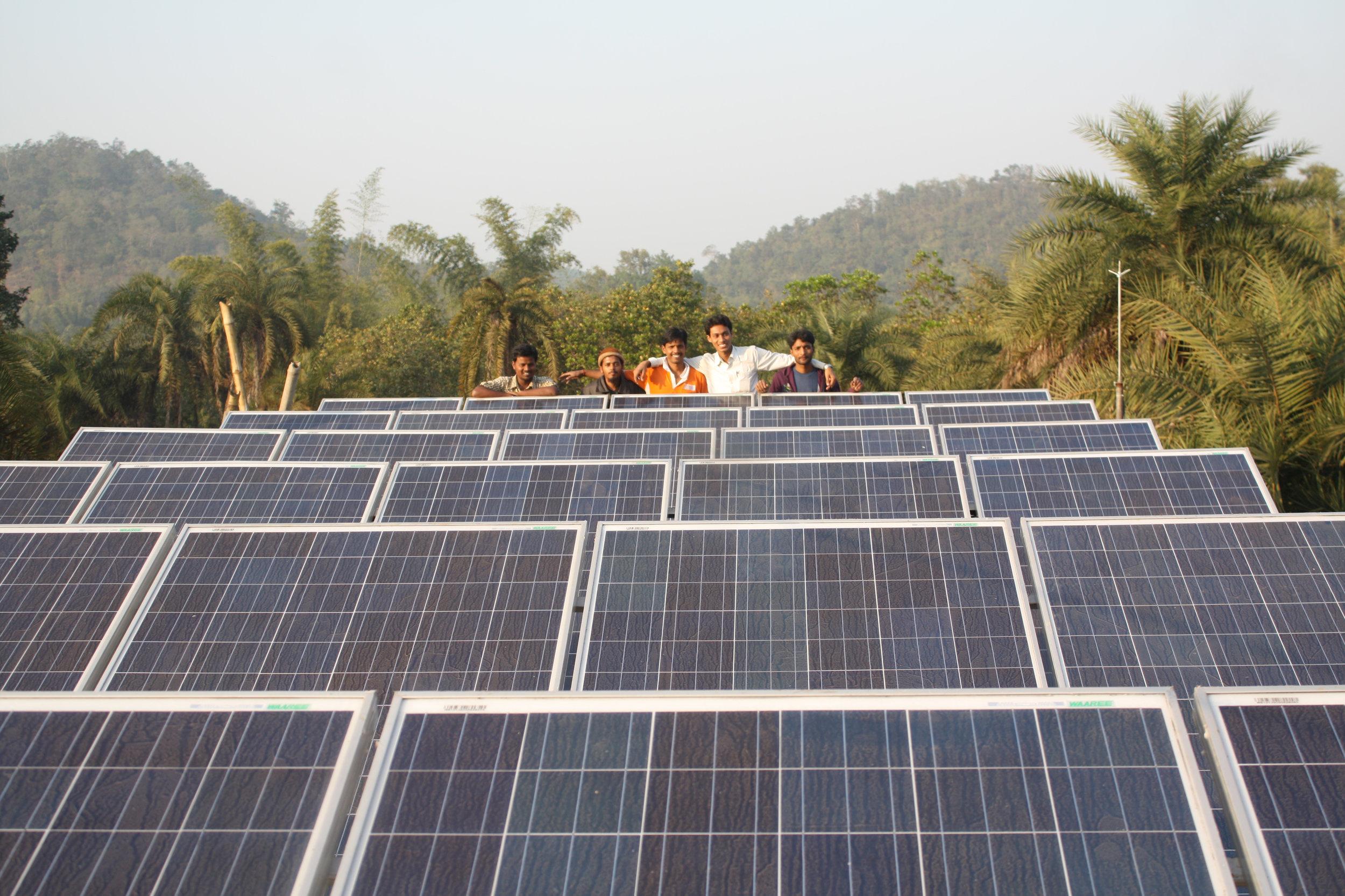 Microgrid large solar panels.JPG