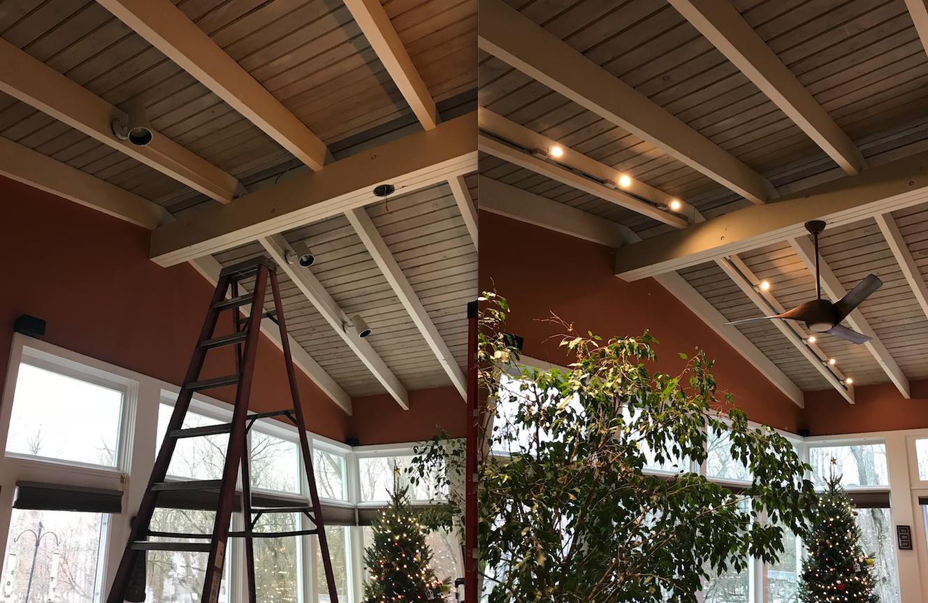 Track Light Lighting & Ceiling Fan