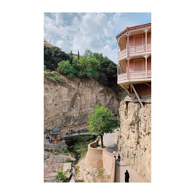 old tbilisi is gorge-ous