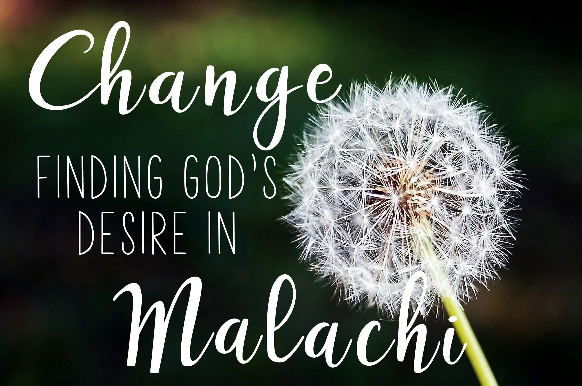 Malachi 2:10-16
