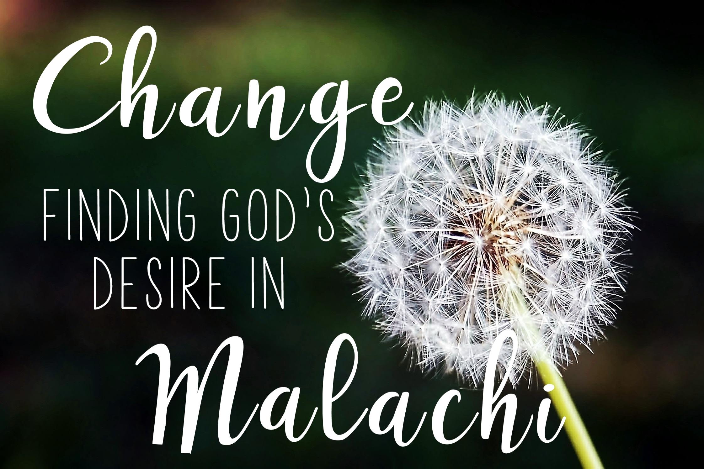 Malachi 3:13-4:6