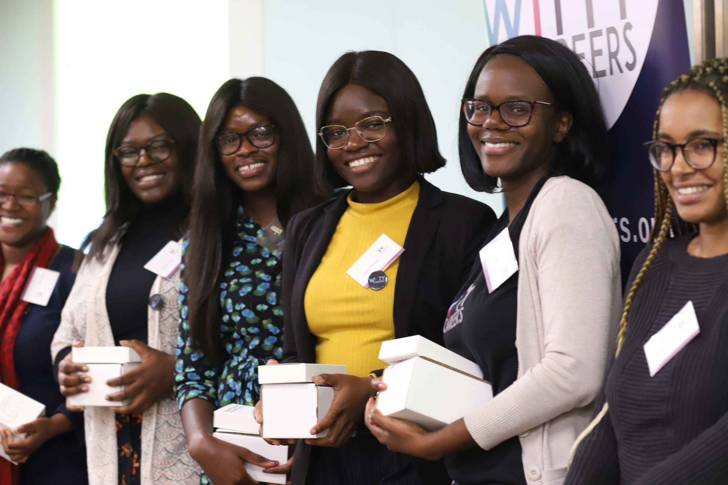 Our Idea Hackathon winners who came up with an idea to use Virtual Reality to help the healthcare sector.