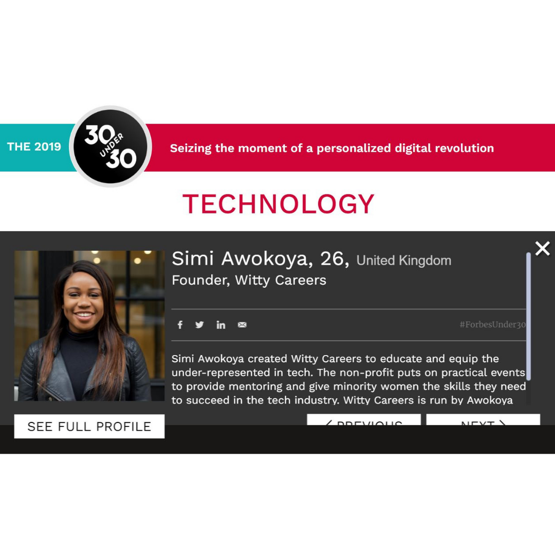 2019 Forbes 30 under 30 - Our founder featured in Forbes Europe 30 under 30 Technology list https://www.forbes.com/under30/list/2019/europe/technology/