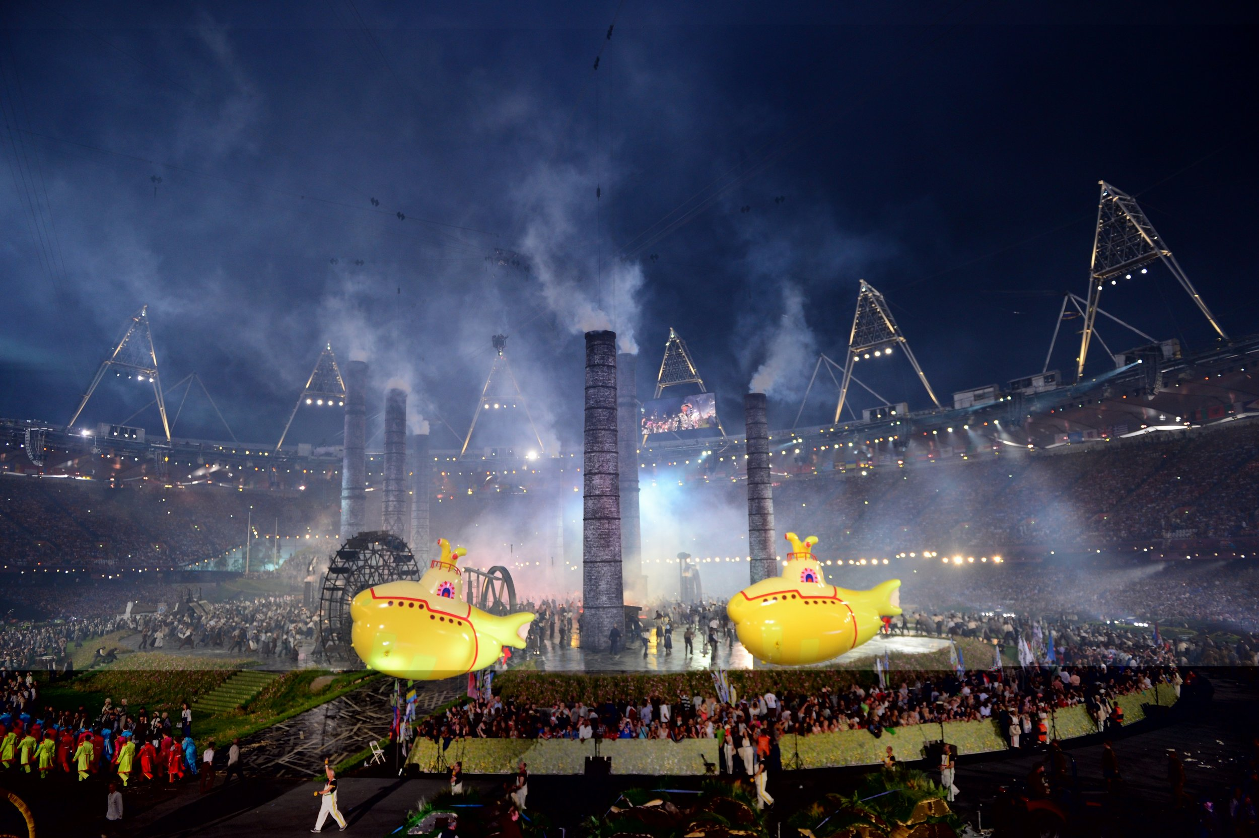 #7 - OLYMPICS OPENING CEREMONY - London