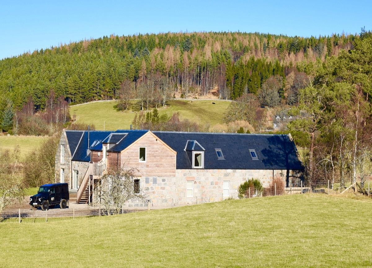 Mill of Dess Lodge