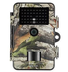Camera trap: Minox DTC 550 - £129.99 - Resolutions: Adjustable resolutions: 2 MP, 5 MP, 8 MP, 12 MPMemory card: SD memory card up to 32 GBMonitor: 2.4'' TFT colour displayImages: Images in colour (day), Images in black & white (night)Video resolution: Full-HD 1280x720Dimensions: 135,5x101x70 mmWeight:approx. 295 gPower supply: 8x AA batteriesConnectors:USB,12 Volt connector for external power supply