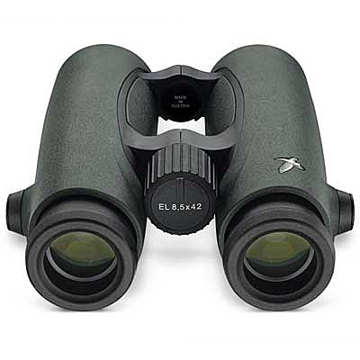 Swarovski 8.5x42 - £1829 - Magnification (x): 8.5Field of view, real (degrees): 7.6Minimum focus distance (m): 1.5Size: 160 x 131mmWeight (g): 800