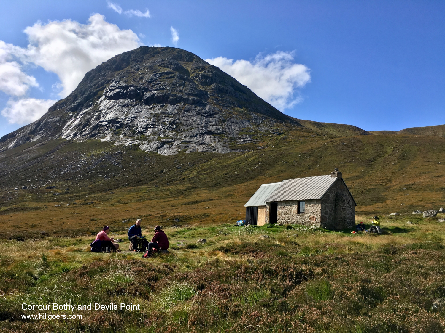 Devils Point and Corrour Bothy