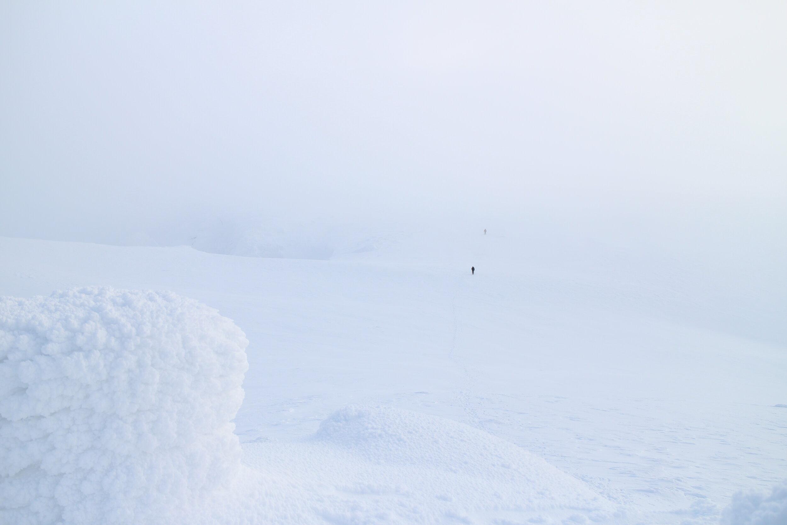 Approaching Lochnagar summit