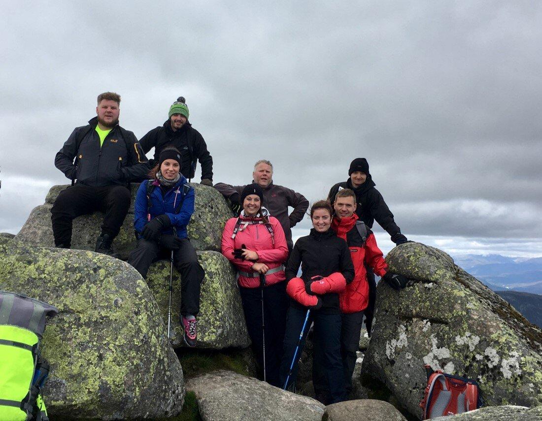 A great day on Lochnagar