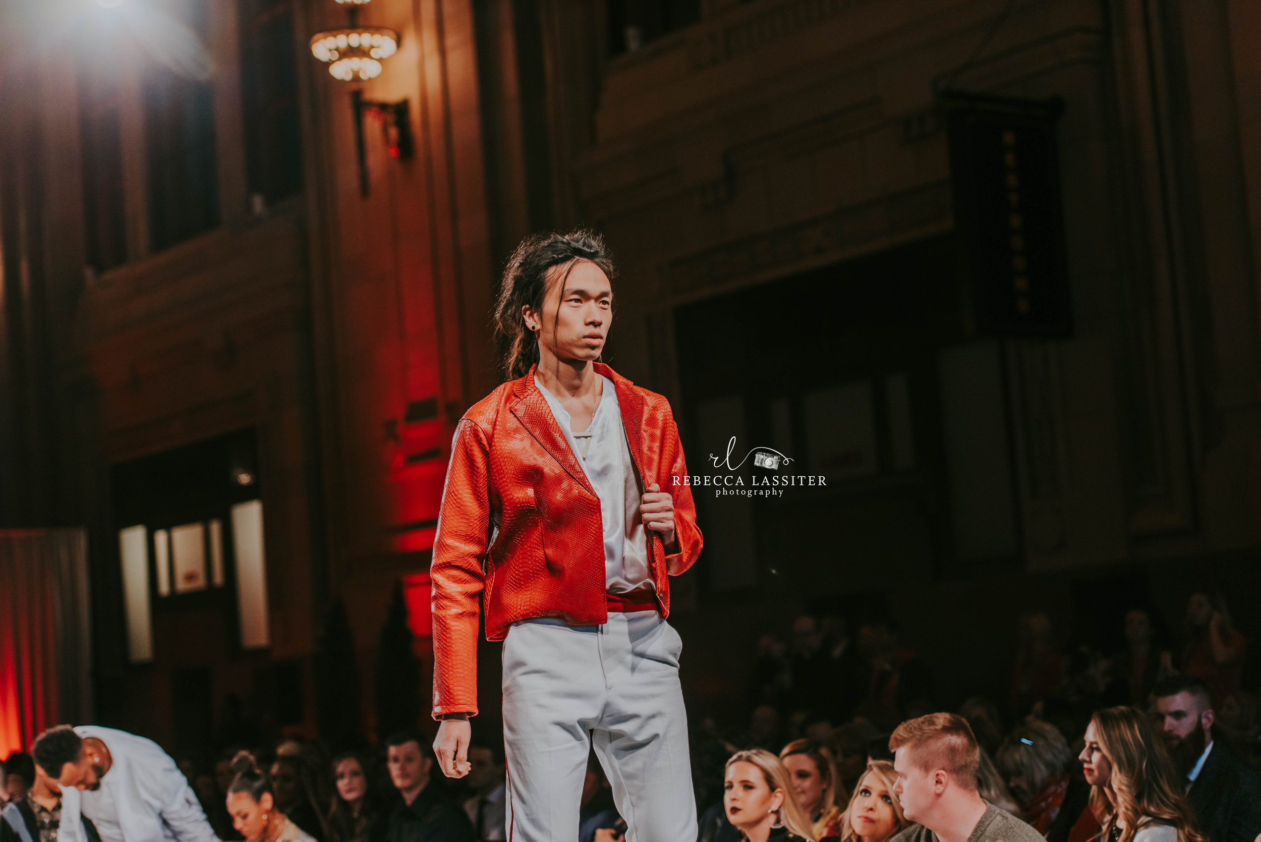 KC Fashion Week - Red Jacket