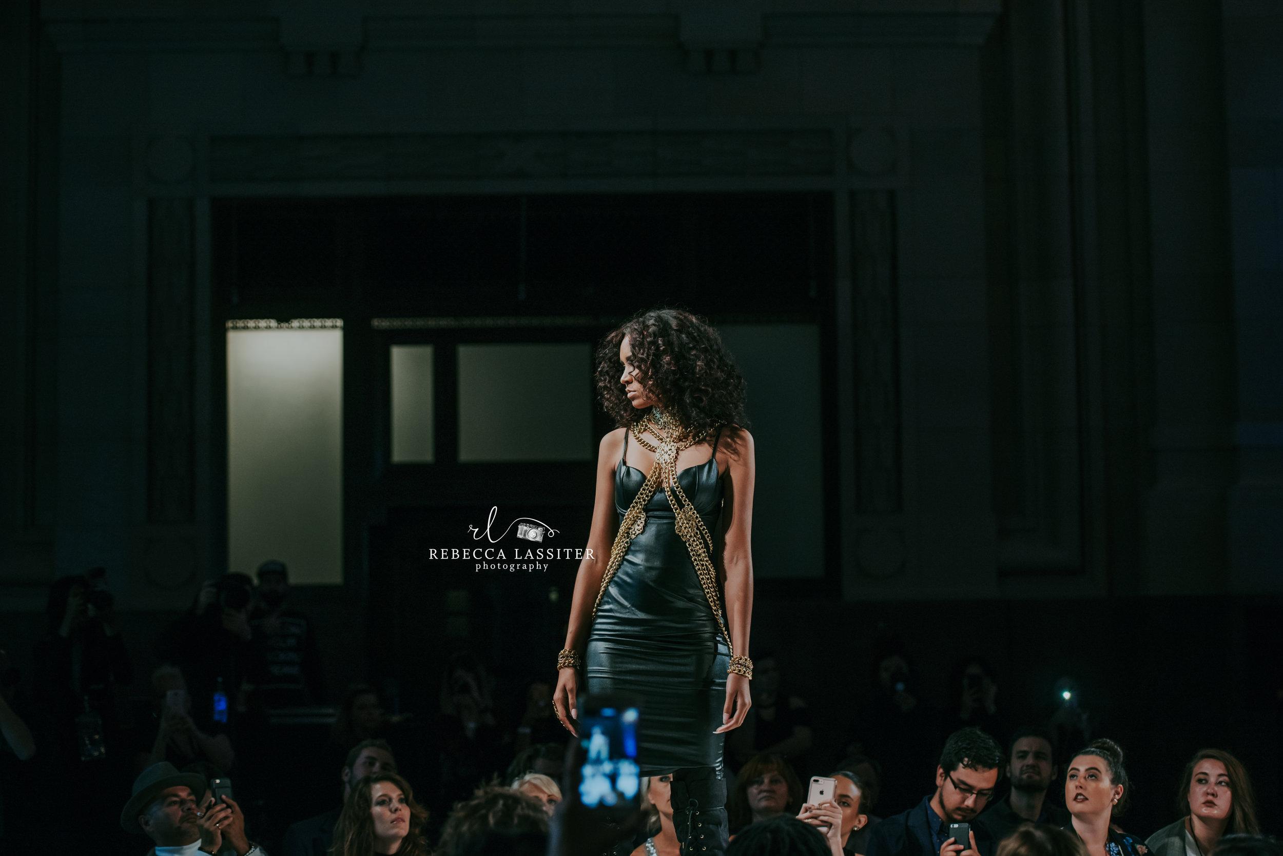 KC Fashion Week Night 2 Black Dress