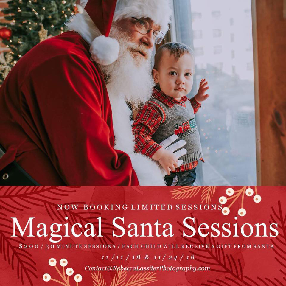 Kansas City Santa Claus Sessions