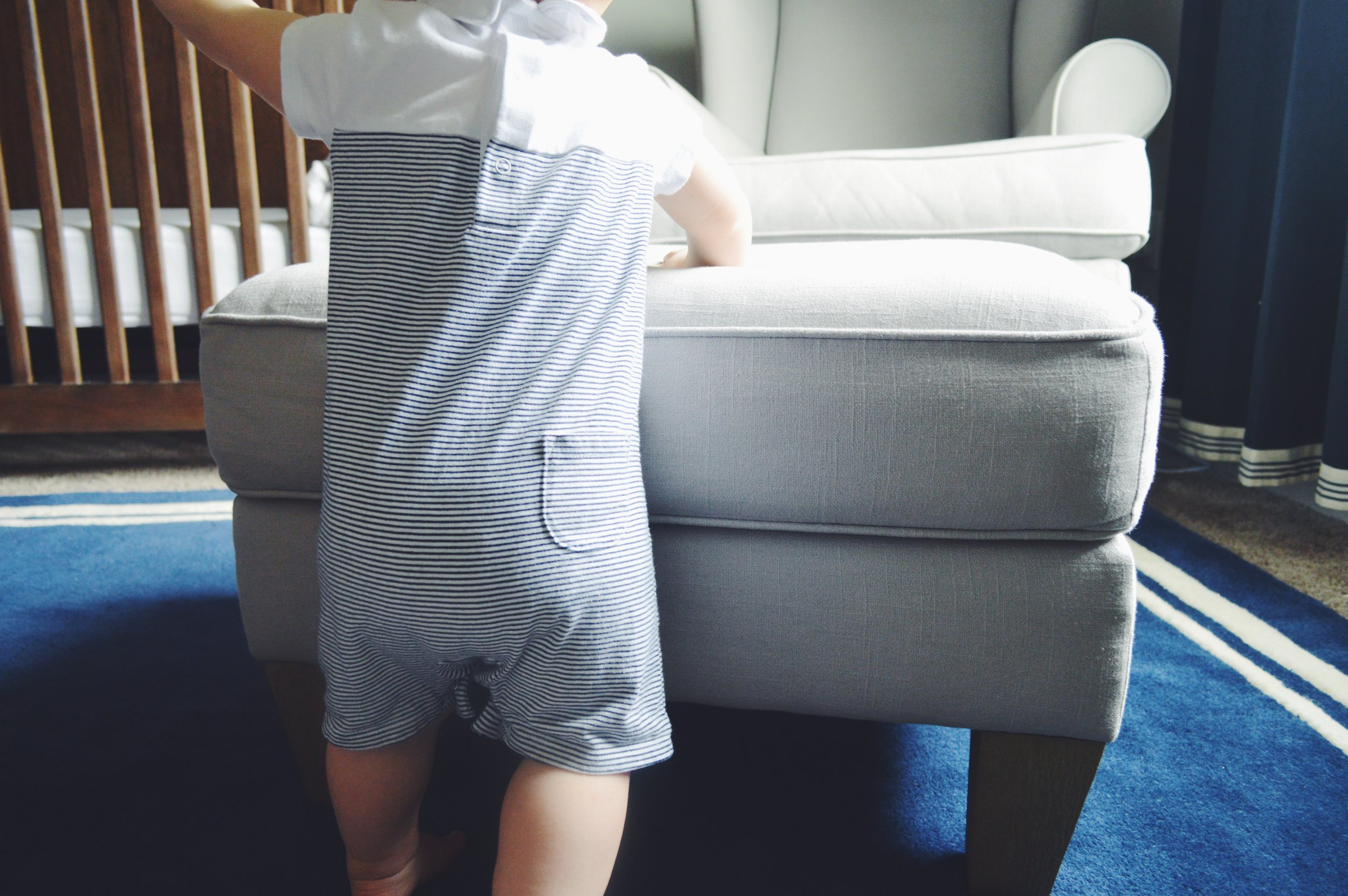 This cute little romper is on sale for $26! From  Janie & Jack