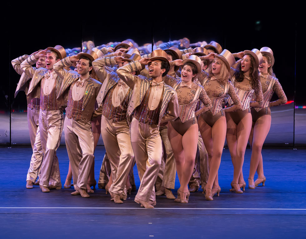 A Chorus Line  Photo by Sheryl Sinkow