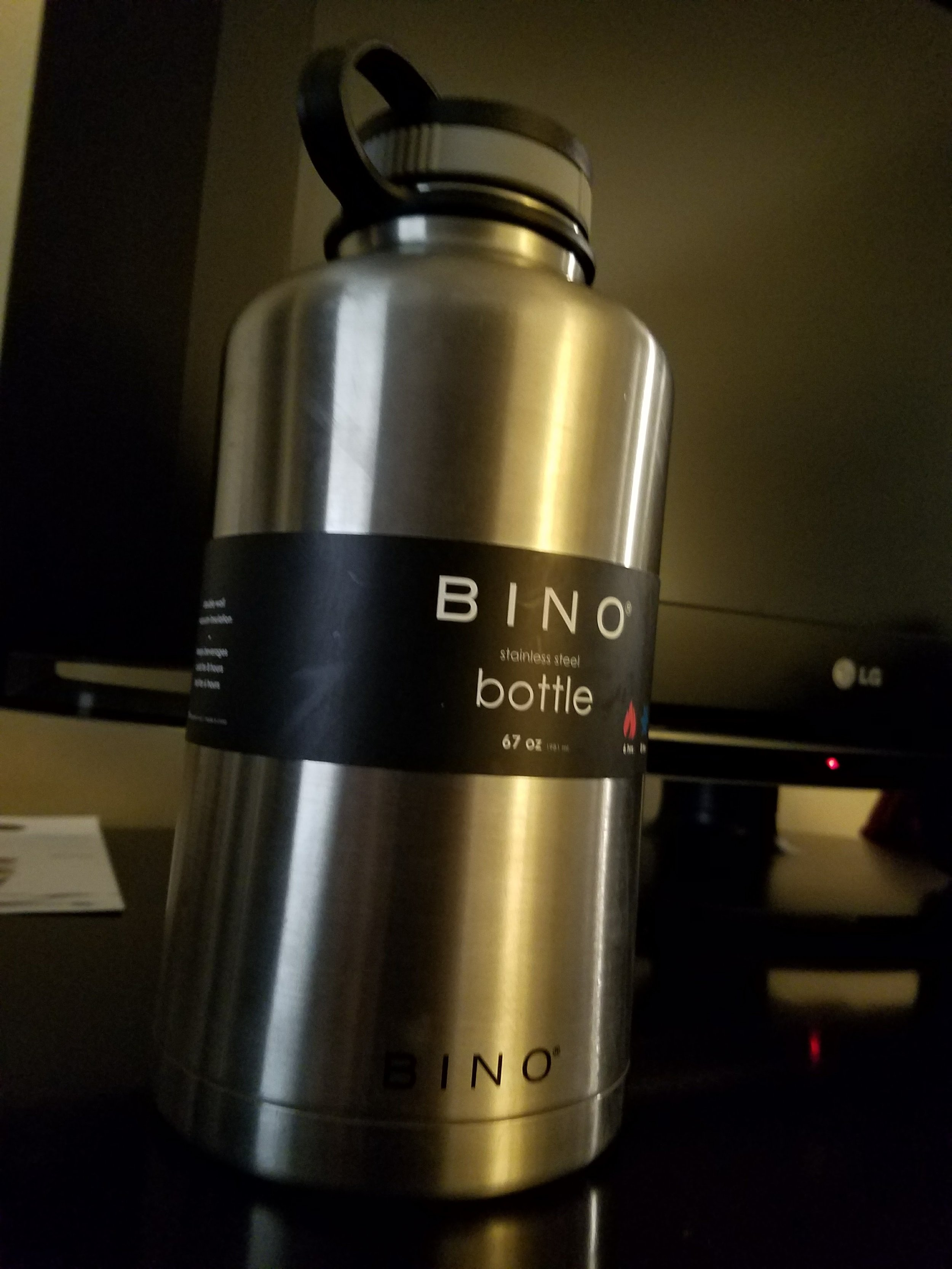 My very large water bottle to aid in my hydration journey.