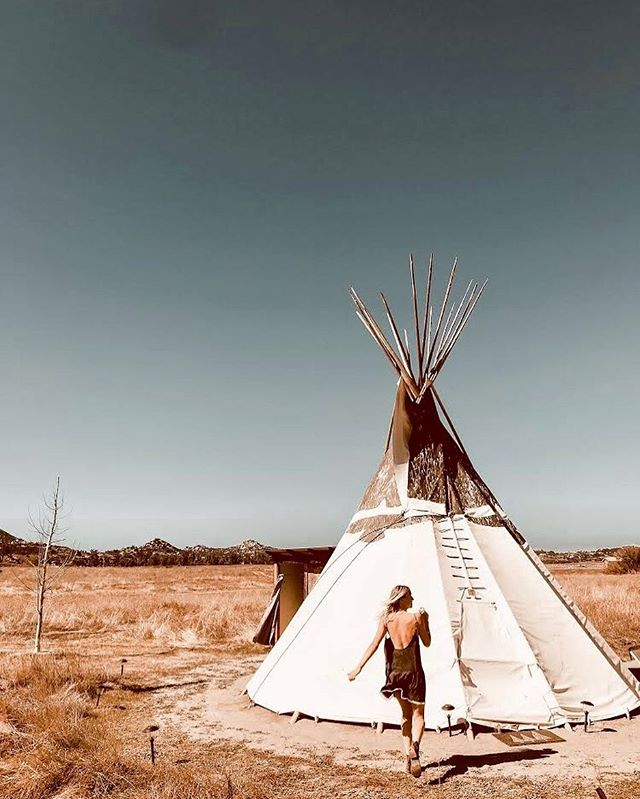 Itchin' for an adventure ✨ #glampinghub #teepee #wanderlust #tbt