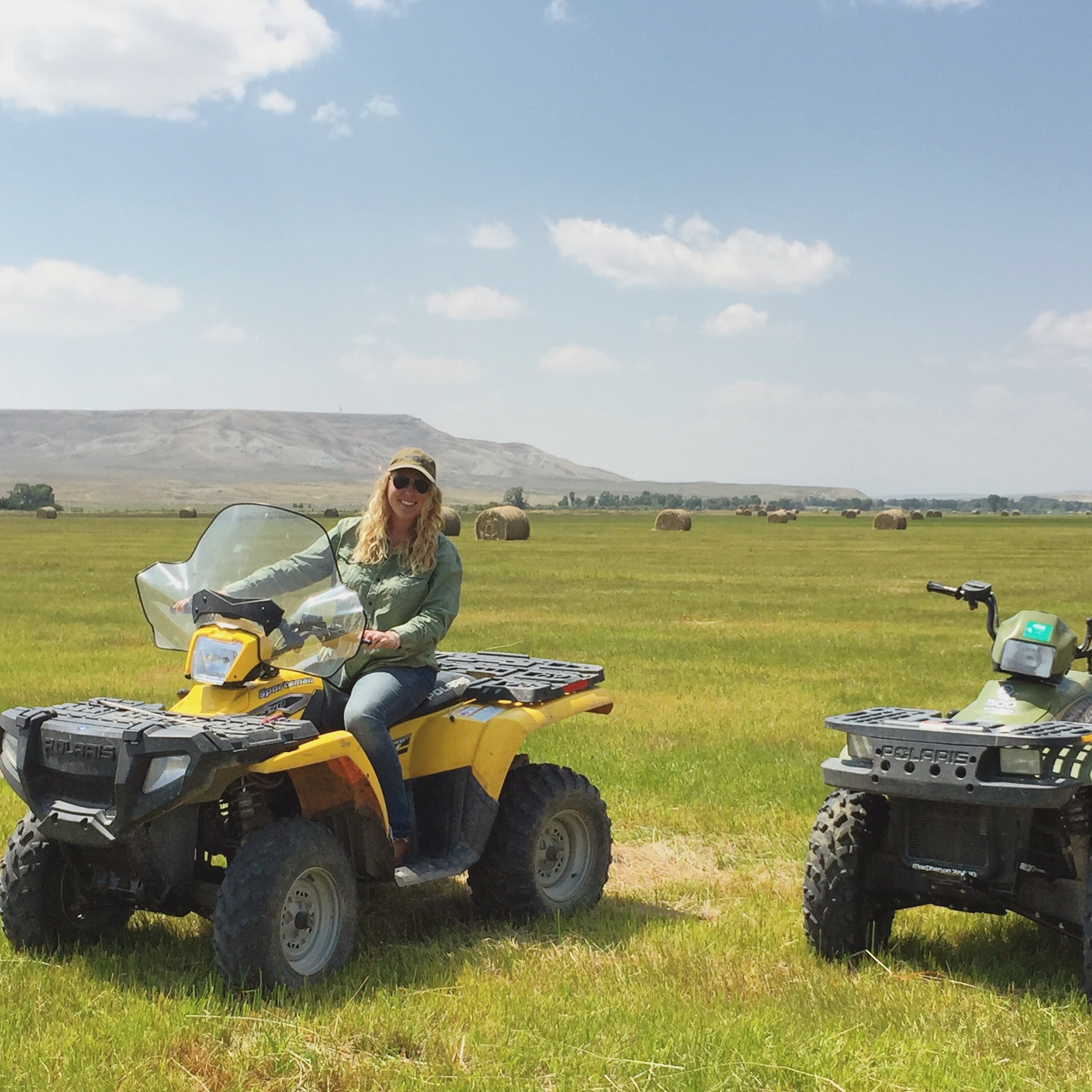Touring a ranch in Sublette County, Wyoming