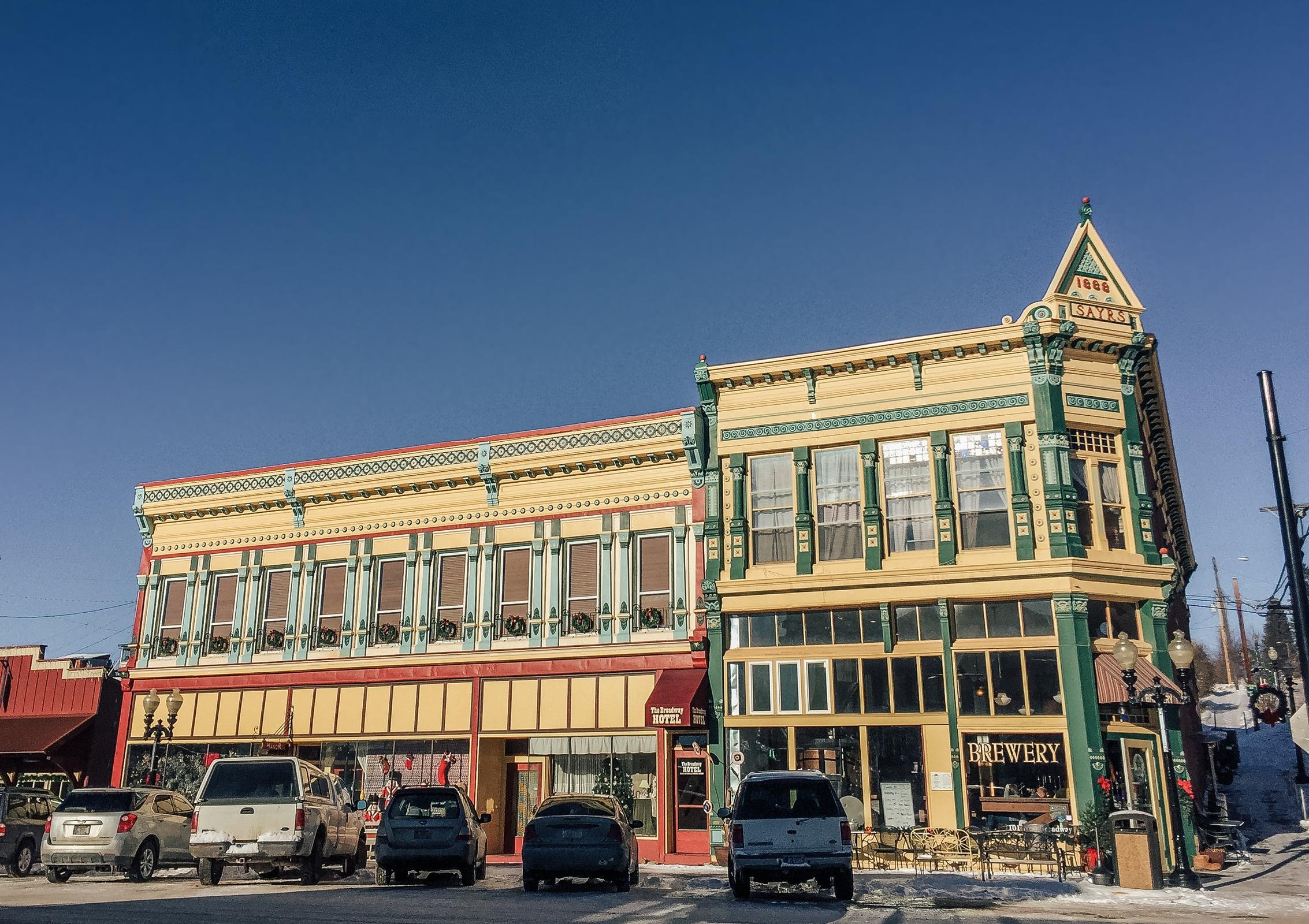 Historic Downtown Philipsburg, Montana