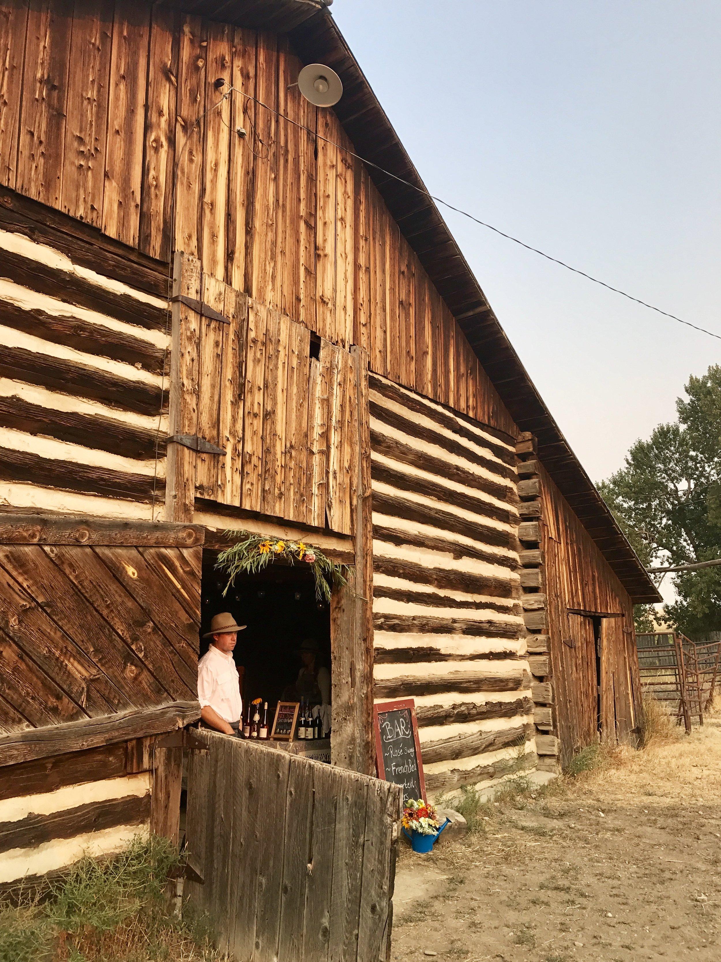 Two Dot Land and Livestock Barn