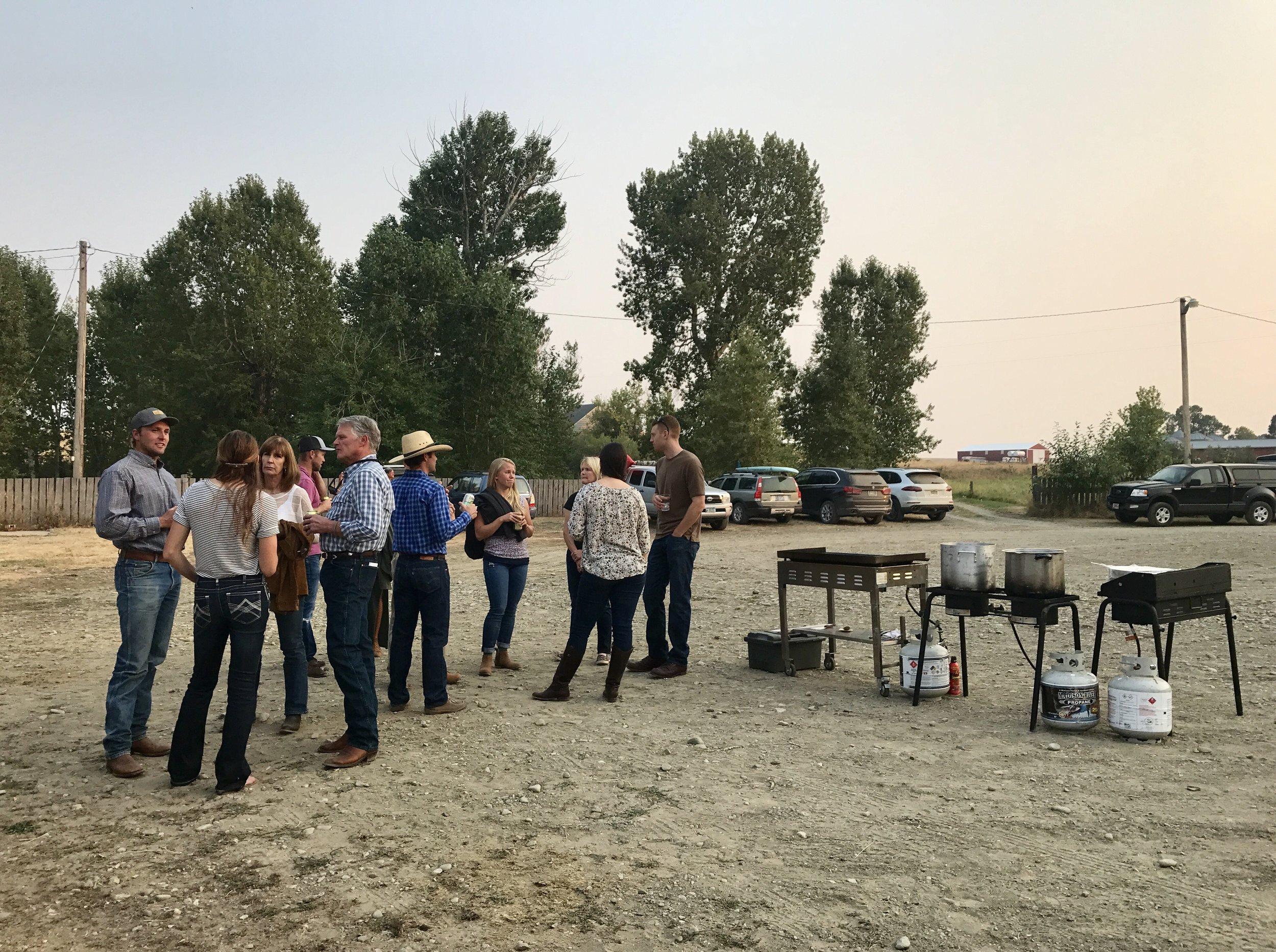 Seasonal Montana Ranch Dinner