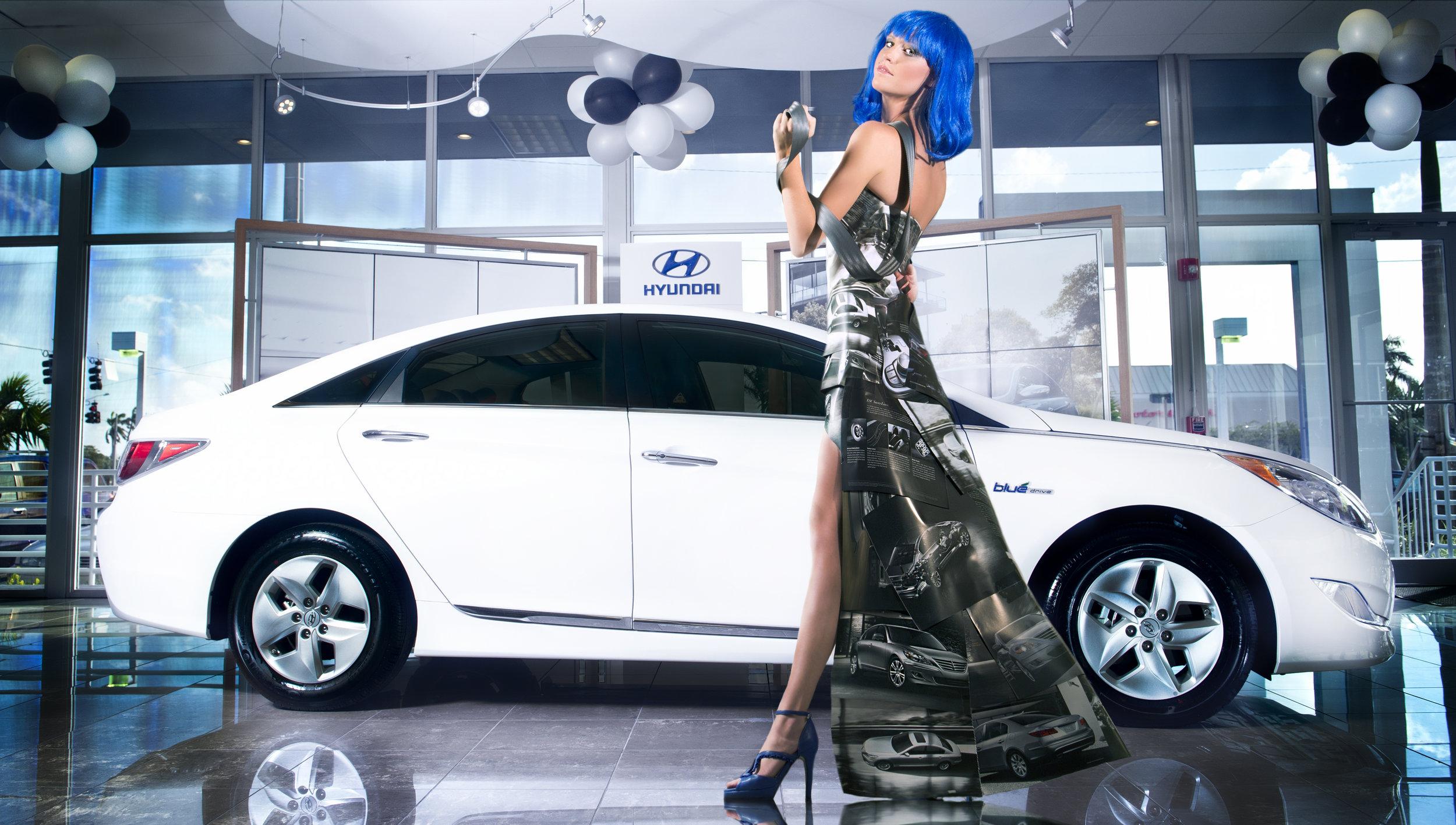 Hyundai Garbage Gone Glam