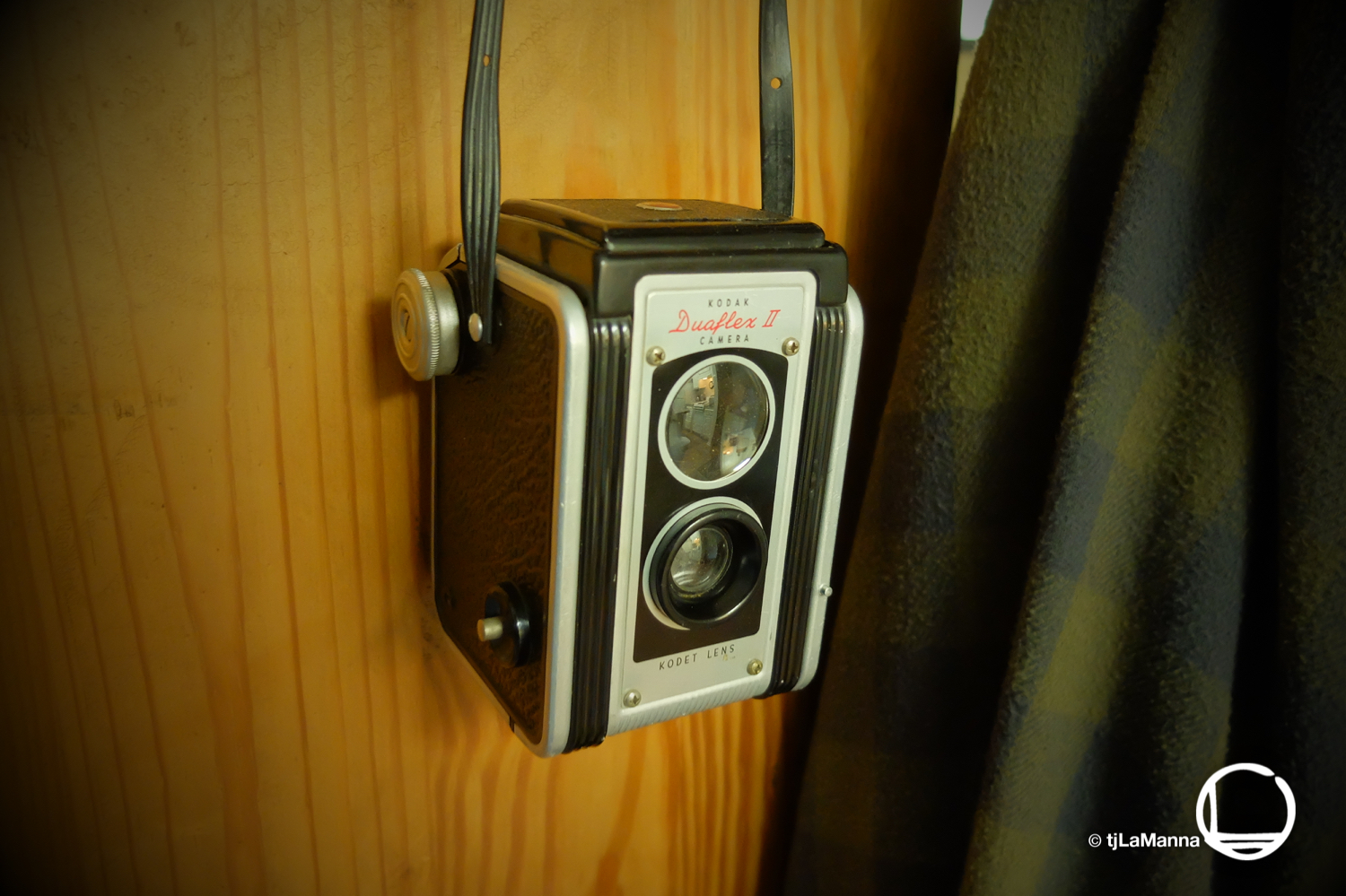 My Kodak Duoflex II - the same model camera the was my first, at the age of 6, 7, or 8.  : : : :