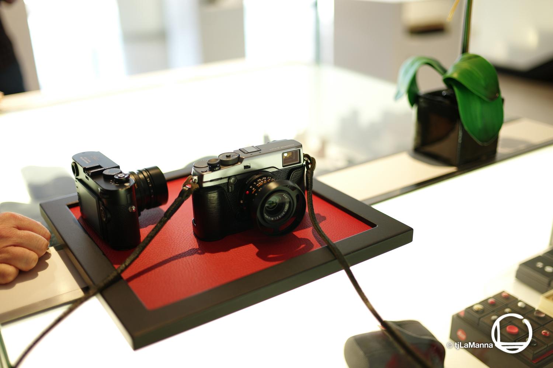 My Fuji xPro2 alongside a Leica 240.  : :