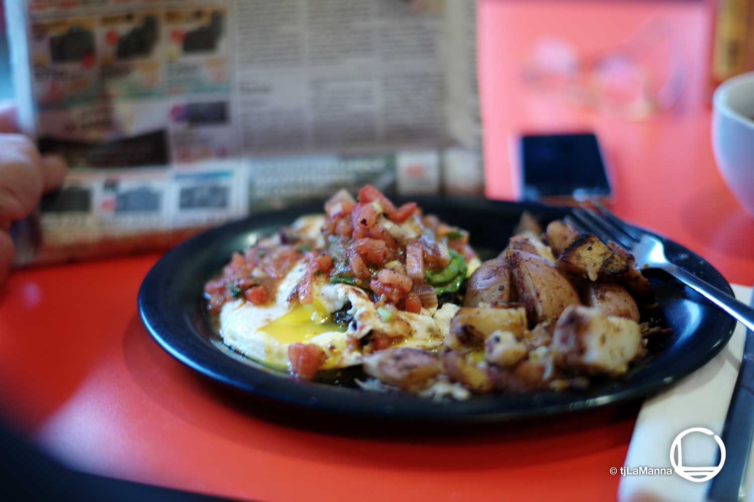 Breakfast at Rooster Café  : :