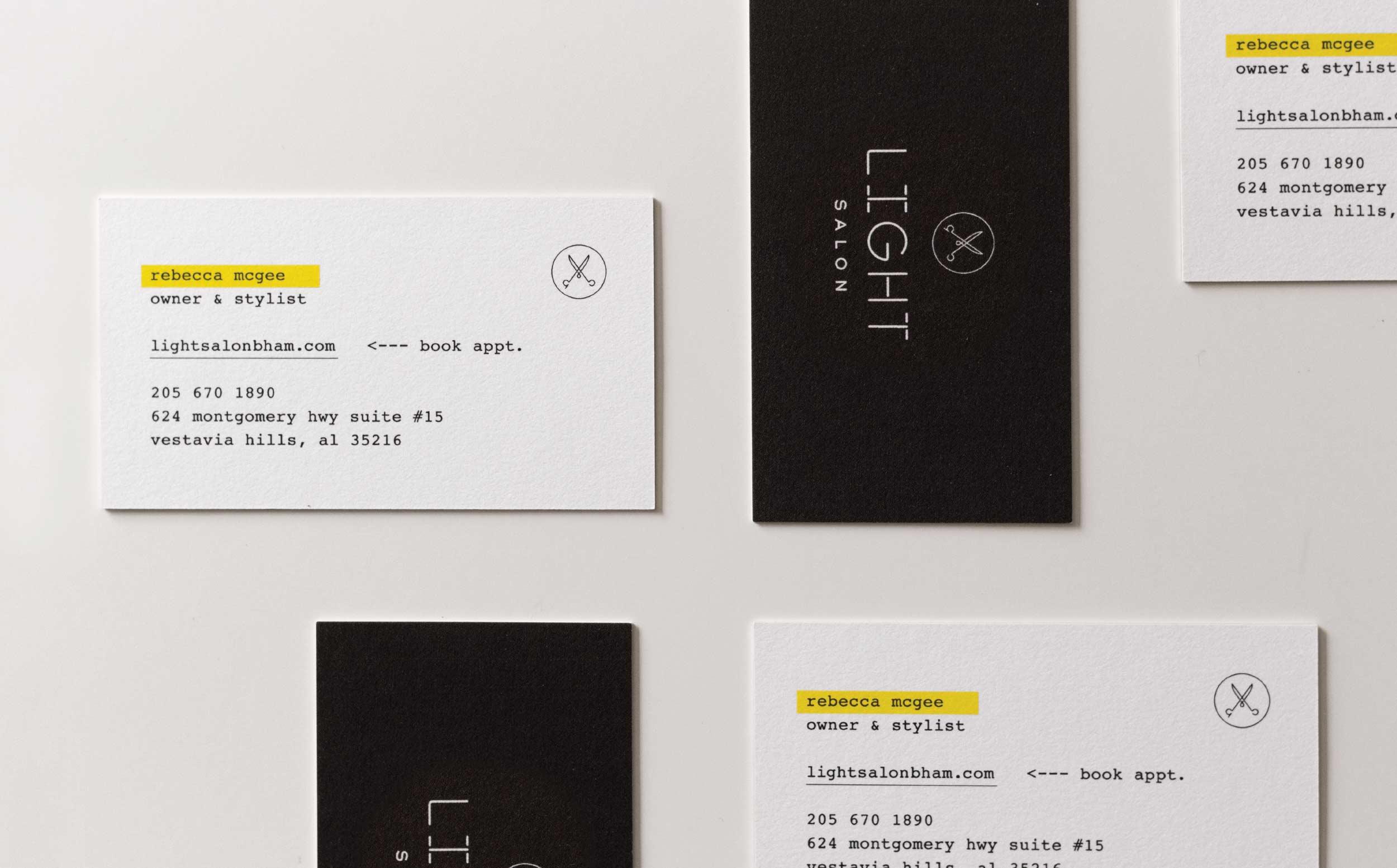 light-businesscards