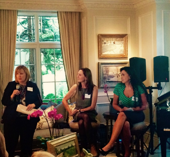 Jennifer Danielson, Margit Wennmachers and Amy Rees Anderson discuss issues facing women in business.