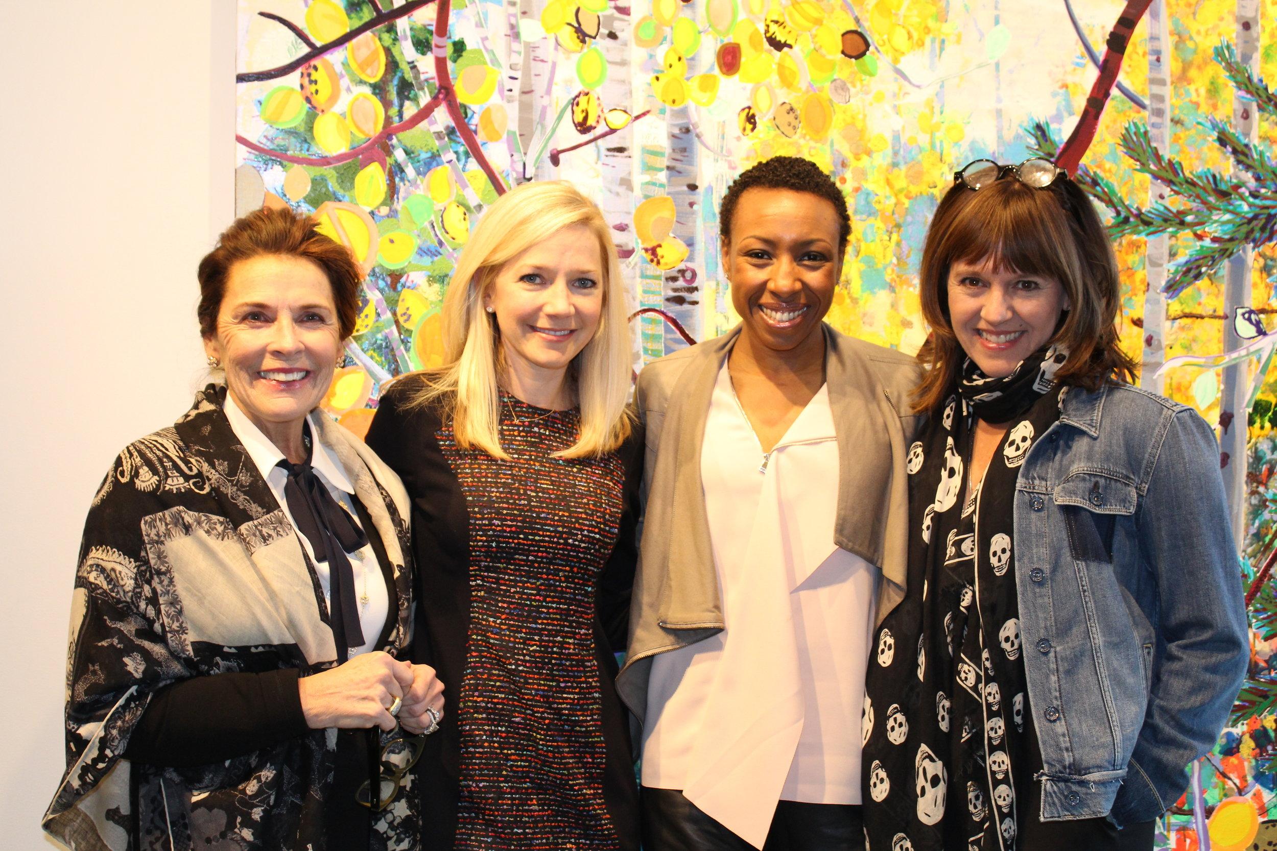 Diane Stewart, Sarah Burney, Tiffany Dufu and Jacki Zehner