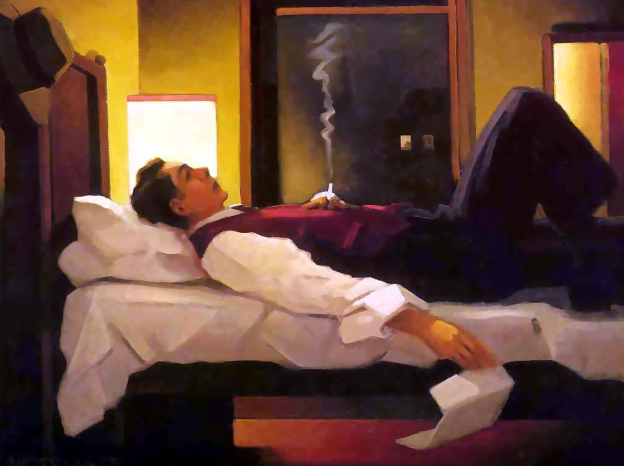 Painting by Jack Vettriano
