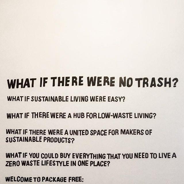 Shops we love 💚@packagefreeshop #sustainableliving #brooklyn