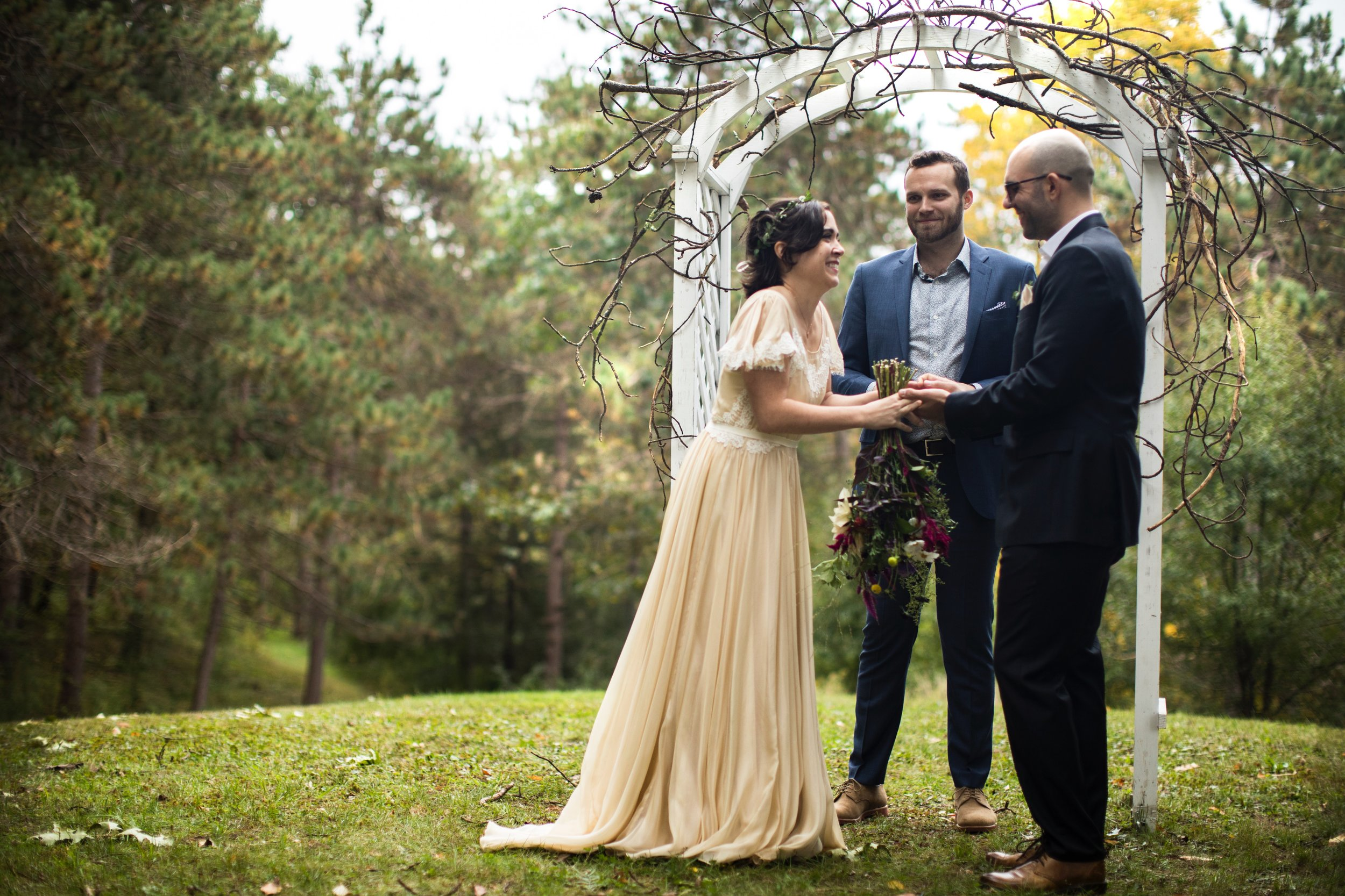 our green wedding - we've been gone awhile. this is why.